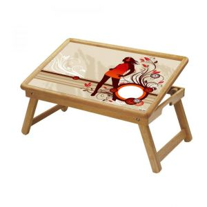 Buy Multipurpose Foldable Wooden Study Table (098) online