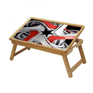 Buy Illustrations Multipurpose Foldable Wooden Study Table For Kids - Study 102 online