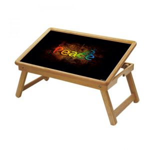 Buy Peace Multipurpose Foldable Wooden Study Table For Kids - Study 106 online