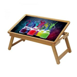 Buy Colors Multipurpose Foldable Wooden Study Table For Kids online