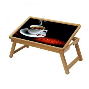 Buy Chai & Coffee Multipurpose Foldable Wooden Study Table For Kids - Study 129 online