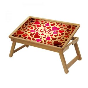 Buy Spiritual Multipurpose Foldable Wooden Study Table For Kids online