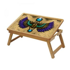 Buy Signs & Symbols Multipurpose Foldable Wooden Study Table For Kids - Study 166 online