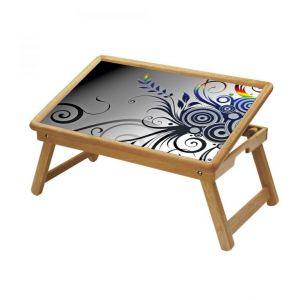 Buy Graffiti Multipurpose Foldable Wooden Study Table For Kids online