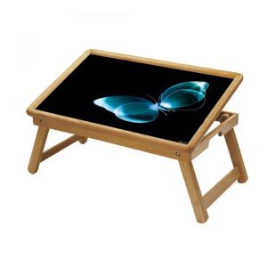 Buy Butterfly Multipurpose Foldable Wooden Study Table For Kids - Study 181 online