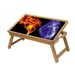 Buy Graffiti Multipurpose Foldable Wooden Study Table For Kids - Study 190 online