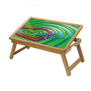 Buy Multipurpose Foldable Wooden Study Table (232) online