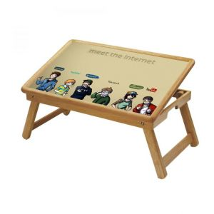 Buy Tech Multipurpose Foldable Wooden Study Table For Kids - Study 440 online