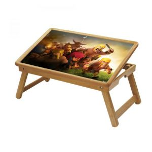 Buy Comic & Cartoons Multipurpose Foldable Wooden Study Table For Kids - Study 471 online