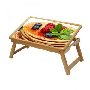 Buy Nature Multipurpose Foldable Wooden Study Table For Kids online