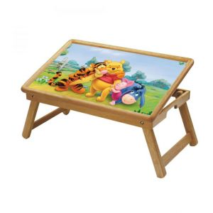 Buy Phoo Multipurpose Foldable Wooden Study Table For Kids online