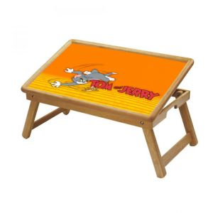 Buy Tom And Jerry Multipurpose Foldable Wooden Study Table For Kids online