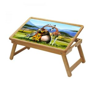 Buy Madagascar Multipurpose Foldable Wooden Study Table For Kids online
