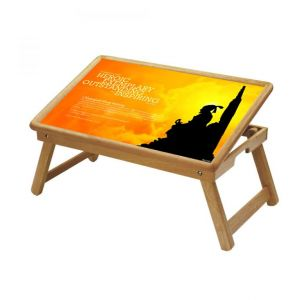 Buy Maharaja Shivaji Multipurpose Foldable Wooden Study Table For Kids online