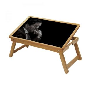 Buy Ethnic Multipurpose Foldable Wooden Study Table For Kids - Study 537 online