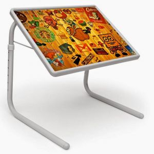 Buy Table Mate Designer Portable Adjustable Dinner Cum Laptop Tray online