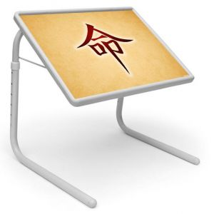 Buy Graffiti Table Designer Portable Adjustable Dinner Cum Laptop Tray Table online
