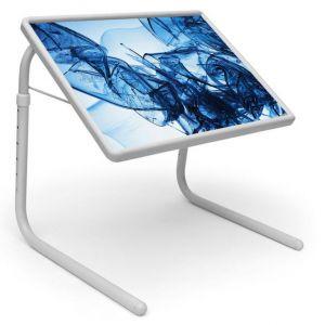 Buy Illussion Table Designer Portable Adjustable Dinner Cum Laptop Tray Table online