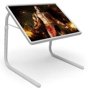 Buy Comic & Cartoons Table Designer Portable Adjustable Dinner Cum Laptop Tray Table 447 online