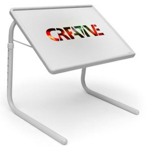Buy Ethnic Table Designer Portable Adjustable Dinner Cum Laptop Tray Table 453 online