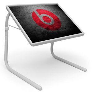 Buy Sports Table Designer Portable Adjustable Dinner Cum Laptop Tray Table 464 online