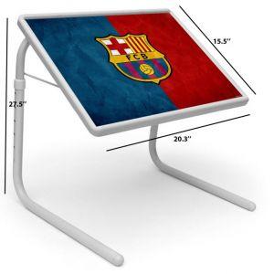 Buy Sports Table Designer Portable Adjustable Dinner Cum Laptop Tray Table 490 online