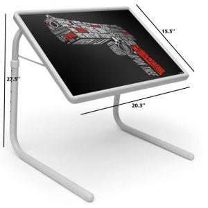 Buy Killer Gun Table Designer Portable Adjustable Dinner Cum Laptop Tray Table 496 online