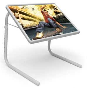 Buy Sports Table Designer Portable Adjustable Dinner Cum Laptop Tray Table 531 online