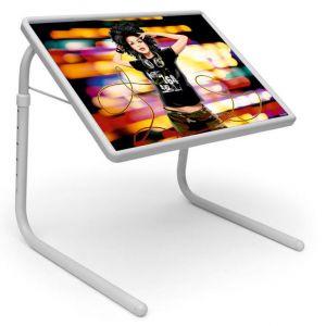 Buy Table Mate Designer Portable Adjustable Dinner Cum Laptop Tray Table (008) online