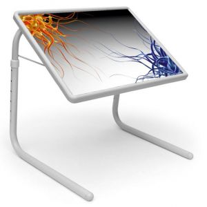 Buy Table Mate Designer Portable Adjustable Dinner Cum Laptop Tray010 online