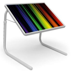 Buy Table Mate Designer Portable Adjustable Dinner Cum Laptop Tray Table (012) online