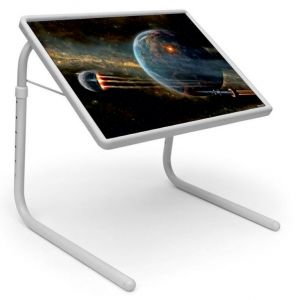 Buy Table Mate Designer Portable Adjustable Dinner Cum Laptop Tray Table (016) online