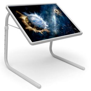 Buy Table Mate Designer Portable Adjustable Dinner Cum Laptop Tray Table (017) online
