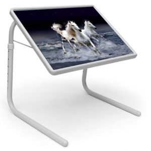 Buy Table Mate Designer Portable Adjustable Dinner Cum Laptop Tray Table (021) online