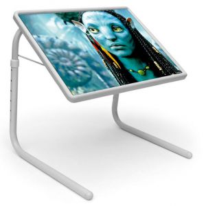 Buy Table Mate Designer Portable Adjustable Dinner Cum Laptop Tray Table (022) online
