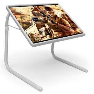 Buy Table Mate Designer Portable Adjustable Dinner Cum Laptop Tray Table (024) online