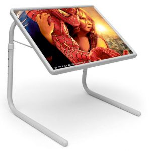 Buy Table Mate Designer Portable Adjustable Dinner Cum Laptop Tray Table (027) online
