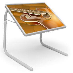 Buy Table Mate Designer Portable Adjustable Dinner Cum Laptop Tray Table (043) online