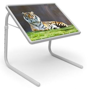 Buy Table Mate Designer Portable Adjustable Dinner Cum Laptop Tray Table (075) online