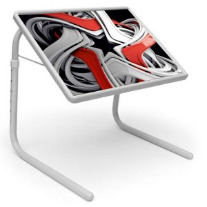 Buy Table Mate Designer Portable Adjustable Dinner Cum Laptop Tray Table (102) online
