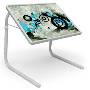 Buy Table Mate Designer Portable Adjustable Dinner Cum Laptop Tray Table (148) online