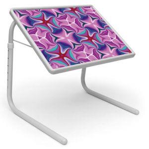 Buy Table Mate Designer Portable Adjustable Dinner Cum Laptop Tray Table (211) online