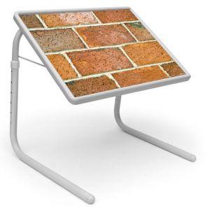 Buy Table Mate Designer Portable Adjustable Dinner Cum Laptop Tray Table (216) online