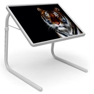 Buy Table Mate Designer Portable Adjustable Dinner Cum Laptop Tray Table (261) online