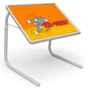 Buy Tom And Jerry 2 Portable Adjustable Dinner Cum Laptop Table Tray online
