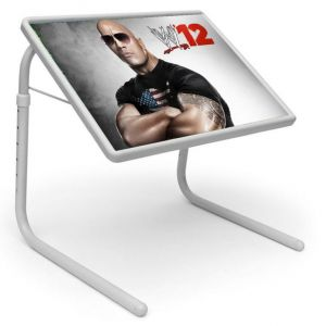 Buy Designer Portable Adjustable Dinner Cum Laptop Tray Table786 online