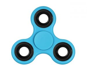 Buy Gadget Hero's Fidget Spinner Toy, Stress Reducer. Perfect For Add, Adhd ( Blue ) online