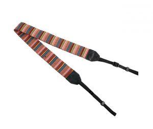 Buy Gadget Hero's Retro Stripes Color Pattern Neck Shoulder Soft Strap For SLR online