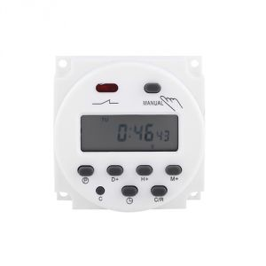 Buy Gadget Hero's 24v-220v LCD Digital Weekly Programmable Power Timer. Time Relay Switch online