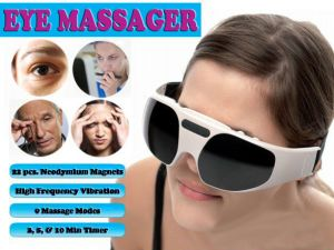 Gadget Hero's Electro Magnetic Vibrating Eye Massager Stress Buster Relaxer
